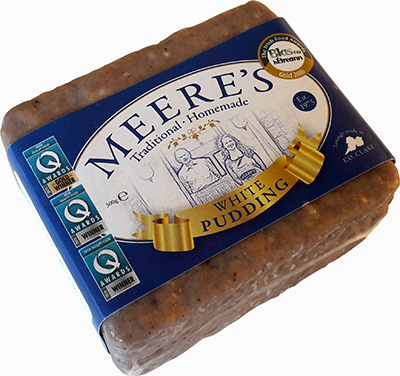 Meere's Square White Pudding
